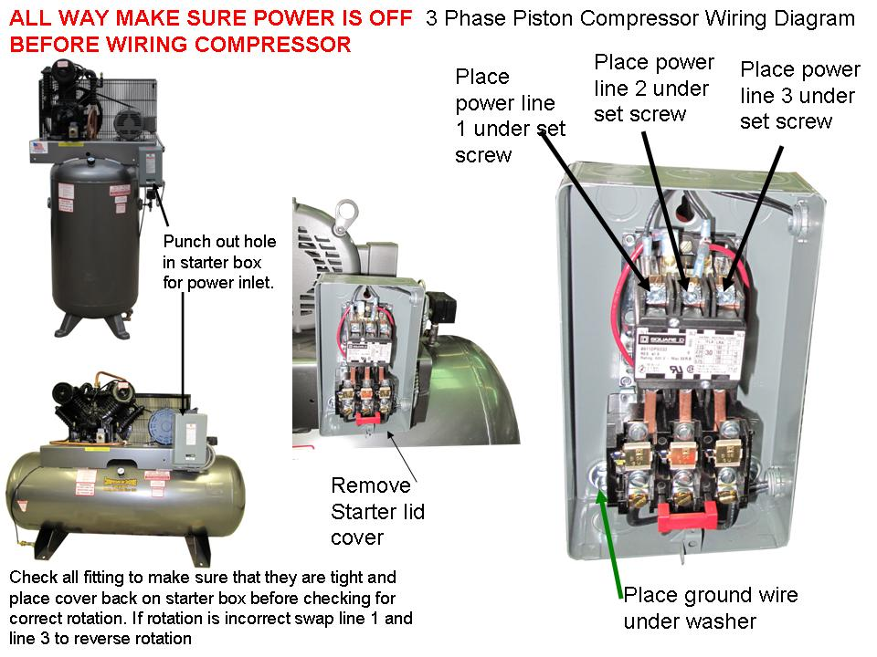 Wiring Diagram For Air Compressor | Wiring Diagram on