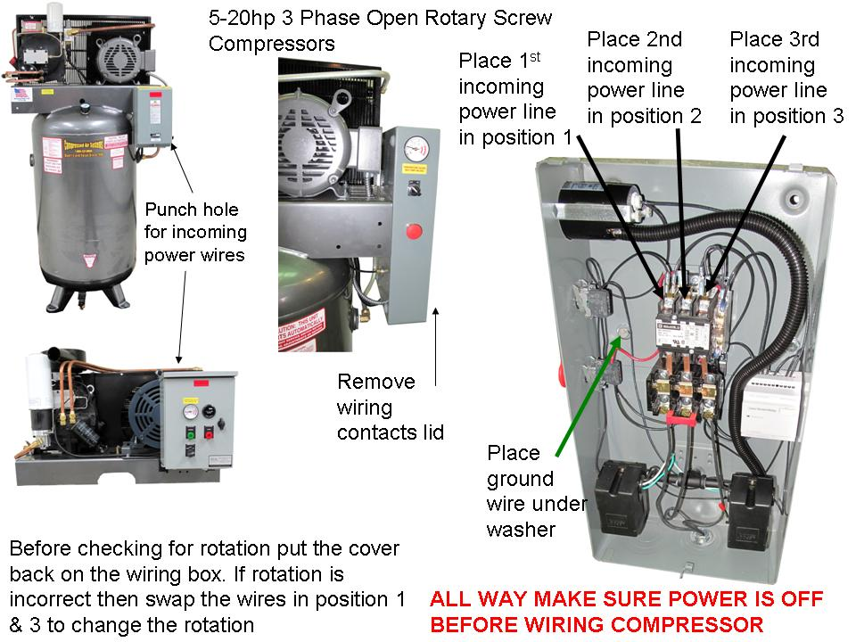 5-20-3phaseOpenRotaryWire Clic Air Compressor Wiring Diagram For on heater for air compressor, regulator for air compressor, circuit for air compressor, manual for air compressor, clutch for air compressor, switch for air compressor, schematic for air compressor, 220 volt air compressor, starter for air compressor, accessories for air compressor, tools for air compressor, oil cooler for air compressor, piston for air compressor, wheels for air compressor, remote control for air compressor, engine for air compressor, capacitor for air compressor, battery for air compressor, cover for air compressor, parts for air compressor,