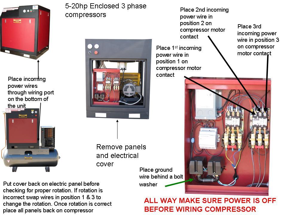 Wiring Diagram For Air Compressor Motor