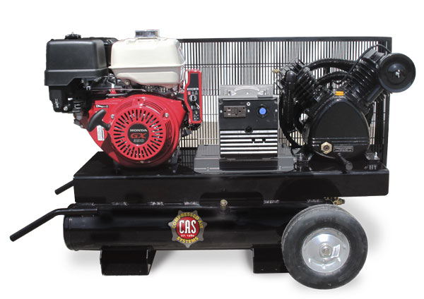 16.5 cfm Gas Engine Compressor/Generator